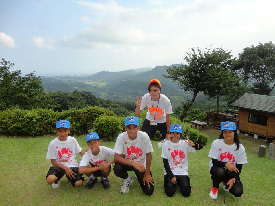 Malaysia Team with Host Staff ( Naohiko Kumagai)