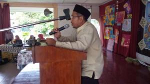 Ucapan Perasmian Majlis disampaikan oleh Penolong Kanan HEM Cikgu Asrul Nizam